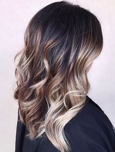 Hair Color Ideas For Perfect Balayage on Dark Hairstyle 2016 -2017