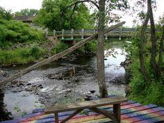 Garden Bridge, Zen, Outdoor Structures, River, Rivers