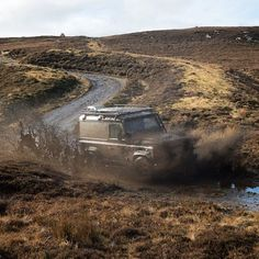 Land Rover Defender 90 Td4 hard top - Twisted Defender in its natural habitat!