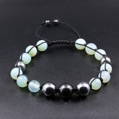 Beaded Bracelets, Jewelry, Water Blob, Svelte Sage, Natural Stones, Black People, Jewellery Making