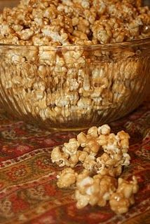 Peanut Butter and Honey Popcorn... @Emma Van Every, right up your ally.