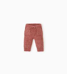 Knit trousers-LEGGINGS & TROUSERS-MINI | 0-12 months-KIDS | ZARA United States
