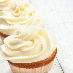 Basic Buttercream - This has always been my no-fail buttercream recipe. I love to add cocoa to make a chocolate version.