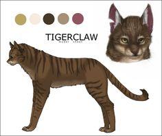cat warriors tigerclaw - Google Search