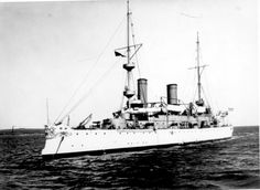 USS Olympia is a protected cruiser which saw service in the U.S. Navy from 1895 until 1922. Famous as the flagship of Commodore Dewey at the Battle of Manila Bay during the Spanish-American War in 1898. The ship was decommissioned after returning to the U.S. in 1899, but was returned to active service in 1902. Following the end of World War I, Olympia participated in the Allied intervention in the Russian Civil War in 1919.