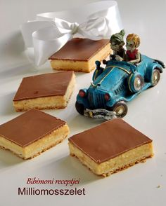 Milliomosszelet | Bibimoni Receptjei Hungarian Desserts, Cooking Tips, Cooking Recipes, Winter Food, Tiramisu, Recipies, Food And Drink, Sweets, Cookies