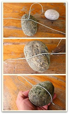 DIY, how to make your own fruit tree branch weights.