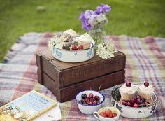 Lazy summer picnic