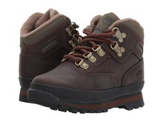feb770a072c4 Timberland Kids Timberland Authentics Euro Hikers (Toddler) Boys Shoes Brown  Smooth Toddler Boy Shoes