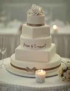 1000 Images About Monogram Wedding Cakes On Pinterest Monogram Wedding Cak