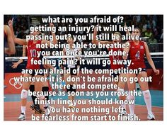 one of my favorite volleyball quotes ever!  WHS Lady Bulldog Volleyball - You just keep working hard, believe and trust in yourselves and your team mates and SUCCESS IS YOURS!    Go out there BELIEVING YOU GOT THIS FROM FIRST POINT TO YOUR WINNING POINT!