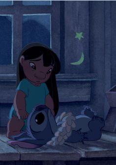 Lilo and Stich. Walt Disney, Disney Films, Cute Disney, Disney Dream, Disney And Dreamworks, Disney Magic, Disney Art, Disney Pixar, Lilo Stitch