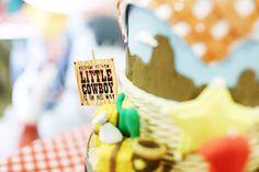 Cake Detail from a Little Cowboy Birthday Party via Kara's Party Ideas | KarasPartyIdeas.com (20)