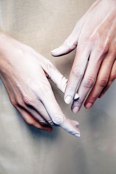 Backstage beauty: Gareth Pugh Fall/Winter 2014-2015
