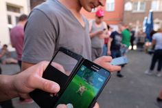 Pokemon Go fever shows signs of fading     - CNET  People play at the Pokemon Go augmented reality game  in Lillo Belgium a village that harbors rare Pokemon and as been flooded with Pokemon GO hunters since the mobile game launched.                                               Nicolas Maeterlinck/AFP/Getty Images                                          Pokemon Go play has peaked and is already in decline according to investment adviser Axiom Capital Management.  The number of daily active…