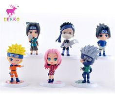 6 Pcs 7cm Naruto Action Figures Collection //Price: $14.08 & FREE Shipping //     #actionfigurecollectors