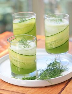 Cucumber and Citrus Mocktail - good drink recipes   good drink recipes