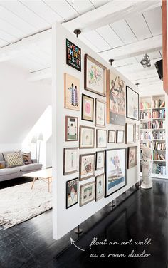 coco kelley in the details floating art wall