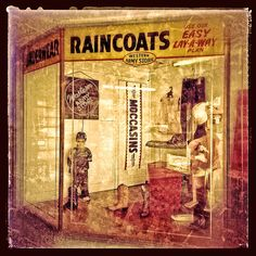 RAINCOATS ~ Western Army Store ~ ~ Independence, Missouri ~ Copyright ©2013 Bob Travaglione ~ ALL RIGHTS RESERVED ~ www.FoToEdge.com