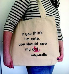 Catsparella: Catsparella Tees And Totes Are Finally Here!