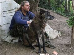 Shaun Ellis : Wolf researcher. His book is the most inspirational non-business book I've read in years!