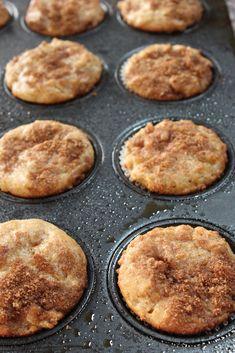 In Erika's Kitchen: Whole wheat pear muffins//Added honey Greek yogurt also--Pinterest success!