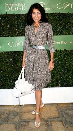 lisa edelstein style | Lisa Edelstein Actress Lisa Edelstein attends the Future Fashion L.A ...