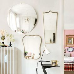 How To Decorate With Antique Mirrors