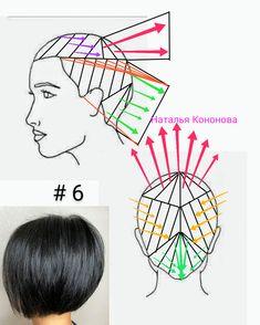 Hair Cutting Techniques, Hair Color Techniques, Funky Short Hair, Short Hair Cuts, Point Cut Hair, Hair Cut Guide, Hair Foils, Barbie Hair, Beautiful Long Hair