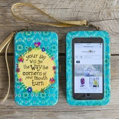 Your Day Phone Wristlet