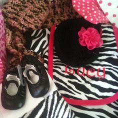Never too young for animal print!! :-)
