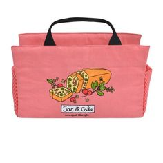 Un sac super original pour apporter un cake aux réunions de famille, ou dîners entre amis !