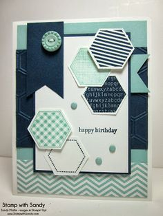 by Sandy Mathis, Stamp With Sandy: Six Sided Sampler for The Paper Players
