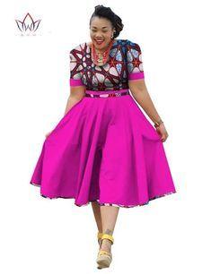Plus Size Clothing 2019 summer Dress African Print Dress Dashiki For Women Bazin Riche Vestidos Femme Dress Plus Size BRW at Diyanu African American Fashion, African Fashion Ankara, Latest African Fashion Dresses, African Print Fashion, Africa Fashion, African Dresses For Kids, African Dresses For Women, African Print Dresses, African Attire