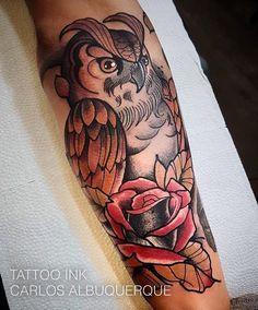 Tatuagem feita pelo tatuador Carlos Albuquerque ! Agende sua tatuagem! Tattoo Ink na Rua Joaquim Floriano, 302, Itaim Bibi - São Paulo (11) 2592-0292  Você tambem nos encontra no:  Tattoo Ink  Rua Consolação,  2761 Jardins ( esquina com alameda Jau) São Paulo Sp (11) 3562-5573  Horário de atendimento das 11h às 20h Orçamento pessoalmente ou : contato@estudiotattooink.com.br  WhatsApp: (11) 992390807 www.estudiotattooink.com.br  Excelente ambiente e atendimento com alguns dos melhores ta...