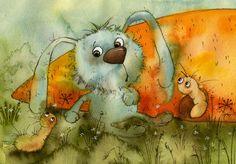 Illustration by Vila Kirdiy   Нахлебники