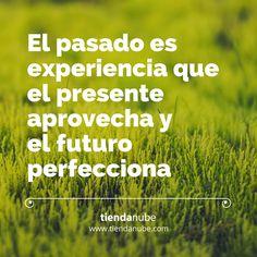 El pasado es experiencia que el presente aprovecha y el futuro perfecciona.   #TiendaNube #Motivación #KeepGoing