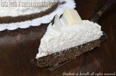 torta fredda al cocco e cioccolato bianco ricetta dolce estivo al cocco
