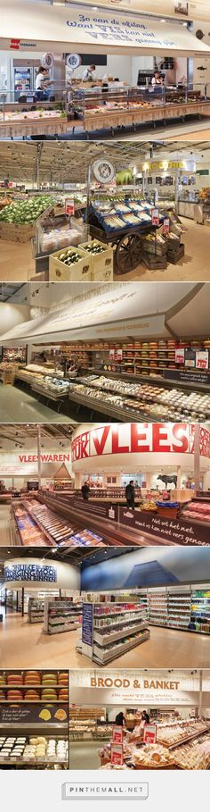 DekaMarkt 'World of Food' store by Twelve Studio, Netherlands - created via http://pinthemall.net