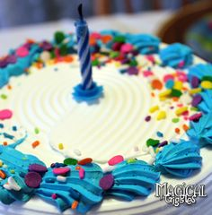 Magical Giggles: Birthday Party Carvel Cake