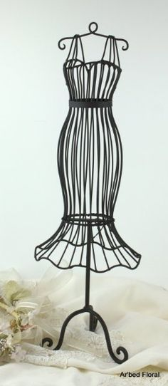 vintage dress forms on pinterest | Iron Metal Dress Form Mannequin ...