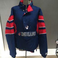 Vintage starter jacket Rare Vintage Cleveland Indians starter jacket. Excellent condition.  Size large.  Sold out on eBay.  All offer appreciated. Starter Jackets & Coats