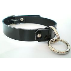 Black Leather Fetish BDSM Collar with bondage ring- for slave or sub ($27) ❤ liked on Polyvore featuring jewelry, necklaces, leather jewelry, genuine leather necklace, leather necklace, leather collar necklace and collar jewelry