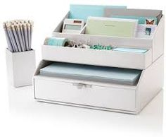 Image result for cool desk organizers