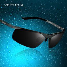 Сплав магния и алюминия, мужские солнцезащитные очки с поляризованными линзами  для вождения, солнцезащитные очки для спорта, рыбной ловли, 8 цветов 6501  купить на ХБХ.РУ