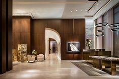Four Seasons New York, Downtown, Yabu Pushelberg & Robert A.M. Stern