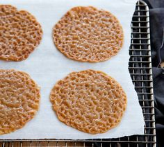 Annabel Langbein Brandy Snap Biscuits Recipe