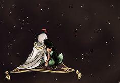 aladdin & jasmine ♥