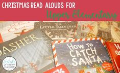 Here are some of my favorite Christmas read alouds for upper elementary. This post also includes a list of Christmas activities to use with each book.#vestals21stcenturyclassroom#christmasreadalouds#christmasreadingactivities#christmasbooks#christmasclassroomideas