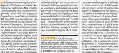 """SCRIVOQUANDOVOGLIO: BELLU """"FALLIMENTO DI SARDEGNA 24.ORA TOCCA A SORU""""..."""